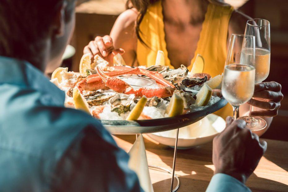 restaurant fruits de mer carnac